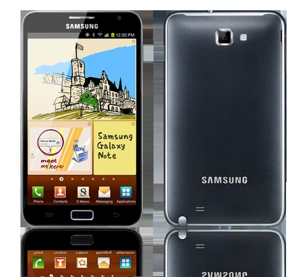 Ötödik telefonom: Samsung Galaxy Note